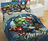 MARVEL Disney Avengers Classic Halo Comforter, Twin/Full