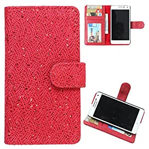DooDa PU Leather Wallet Flip Case Cover With Card & ID Slots Karbonn A25 +