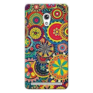 Mobile Back Cover For Asus Zenfone 6 (Printed Designer Case)