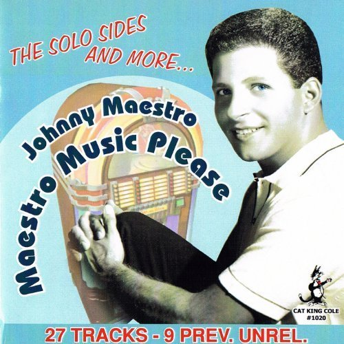 Maestro Music Please by Johnny Maestro (2013-04-09) cover
