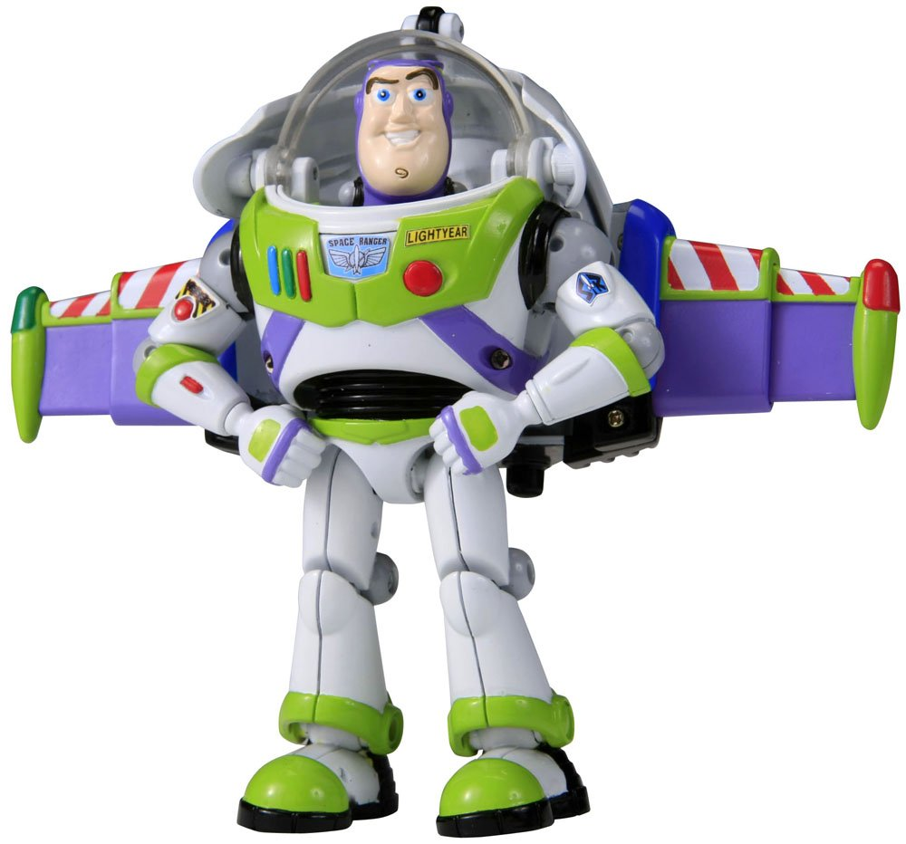 toy story figurine transformers buzz l 39 clair ebay. Black Bedroom Furniture Sets. Home Design Ideas