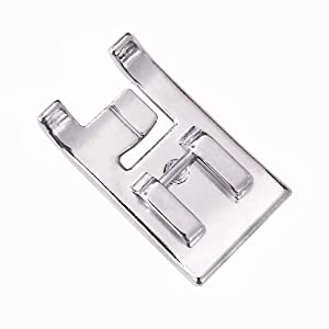 YEQIN 7mm Double Piping Presser Foot SA192 F067 for All Low Shank Singer, Brother,Babylock, Janome, White, Juki, Janome, New Home, Simplicity, Elna Sewing Machine (Color: Style 3(Double Piping Presser Foot))