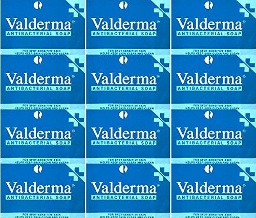 Valderma Soap Bar 100g x 12 Packs by Optima