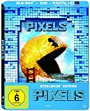 Pixels (2-Disc-Steelbook) [Blu-ray]