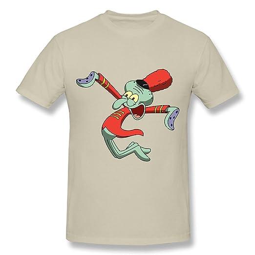 HD-Print Vintage Spongebob Squarepants Sponge Bob T-shirt For Men Natural Size XXL