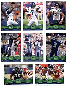 2012 Topps Seattle Seahawks NFL Team Set - 13 cards with Matt Flynn, Lynch, Russel... by 2012 Topps