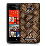Head Case Designs Woven Bamboo Organic Patterns Protective Snap-on Hard Back Case Cover for HTC Windows Phone 8X