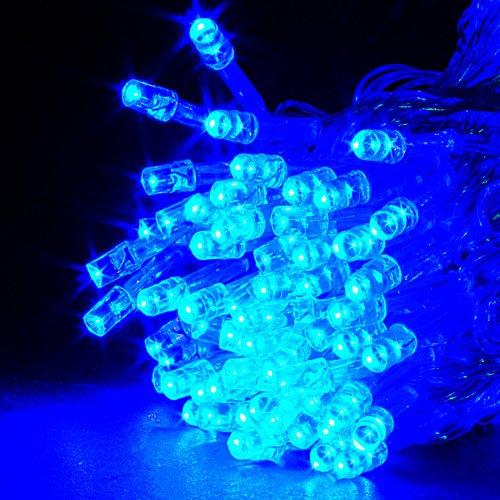 20M Blau 200 LED Lichterkette Strip Streifen Party Weihnachten Au?en Innen Weinachts Beleuchtung