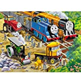 Thomas & Friends: Roadside Repair - 24 Piece Floor Puzzle in a Shaped Box