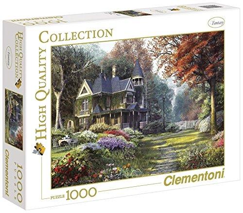 Clementoni Puzzle 39172 - Victorian garden -  1000 pezzi High Quality Collection
