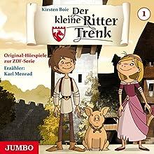 Der kleine Ritter Trenk 1: Aufbruch in der Nacht / Der Ferkeltrick / Überfall auf die Burg Hörspiel von Kirsten Boie Gesprochen von: Karl Menrad,  div.