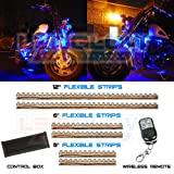 61go8CD1d L. SL160  6pc Blue LED Flexible Motorcycle Lights