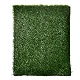 """KLOUD City ® Green Outdoor Artificial Grass MatPet Park (23""""x18"""")"""