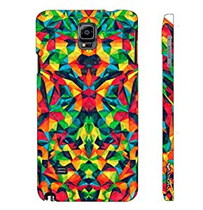 Samsung Galaxy Note 4 Abstract est designer mobile hard shell case by Enthopia