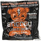 Energy Gummi Bears by Loud Truck Citrus Blast, 24 Count by CUE GREEN TEA ENERGY