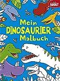 Mein Dinosaurier-Malbuch
