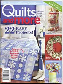 Quilts And More Magazine Winter 2012 Better Homes