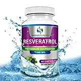 The Best Pure Resveratrol by Supreme Potential ★ 1500mg.Reverse Aging,Reveal Youthful Skin & More! 180 Vegan Capsules