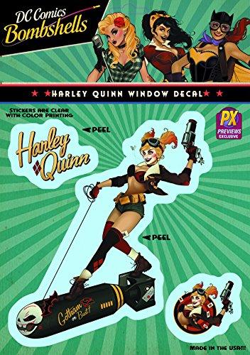 Elephant Gun DC Bombshells: Harley Quinn Vinyl Decal