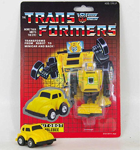 Transformers G1 Autobot Mini Vehicle Warrior Bumblebee Re-issue Brand NEW MISB (Omega Supreme G1 compare prices)