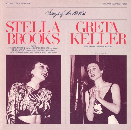 CD : STELLA BROOKS - Diverse Songs And Moods Of The 1940's