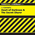 Heart of Darkness & The Secret Sharer: CliffsNotes Audiobook by Daniel Moran Narrated by Dan John Miller