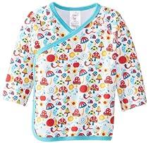 Zutano Baby-Girls Newborn Happy Day Kimono Top, Cream, 3 Months
