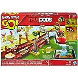 Hasbro A6030E27 - Angry Birds Go, Telepods Schweine-Rennbahn, Aktions- und Geschicklichkeitsspiel