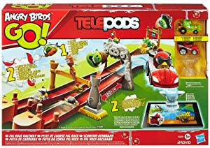 Angry Birds - Telepods - Pig Rock Raceway - Circuit Automobile