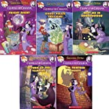 img - for Creepella Von Cacklefur #1 - #5 Pack : The Thirteen Ghosts / Meet Me In Horrorwood / Ghost Pirate Treasure / Return of the Vampire / Fright Night book / textbook / text book