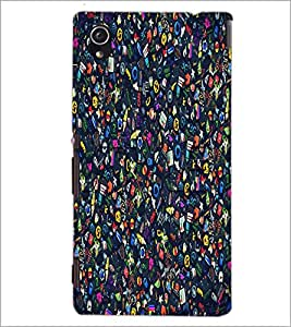 PrintDhaba Graffiti D-1262 Back Case Cover for SONY XPERIA M4 AQUA (Multi-Coloured)