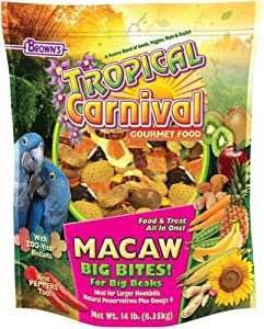 F.M. Brown's Tropical Carnival Macaw Food, 14-Pound