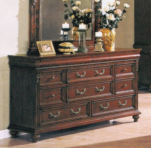 Storage Dresser Traditional Style Cherry Finish