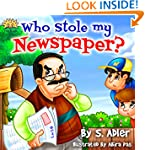 """Kids Books:WHO STOLE MY NEWSPAPER"""" Ch..."""