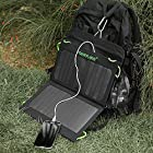 [High Efficiency] Poweradd™ 14W Dual-Port Foldable Solar Panel Portable Charger for iPhones, Smartphones, Tablets, GPS Units, Bluetooth Speakers, other 5V USB-Charged Devices