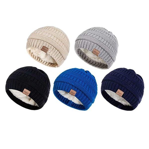 5 Colors Toddler Girls Boys Beanie Soft Infant Baby Hats Newborn Warm Caps