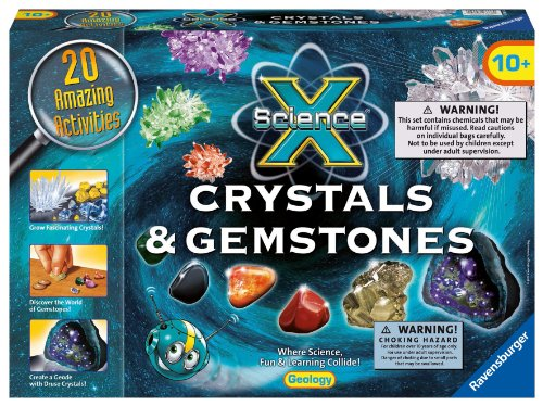 Ravensburger Science X Crystals and Gemstones Activity Kit (Science Gems compare prices)