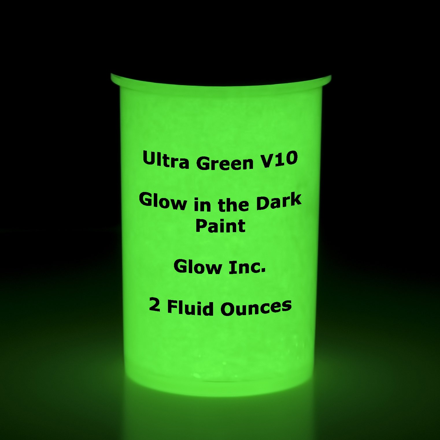 Brightest Ultra Green Glow Paint