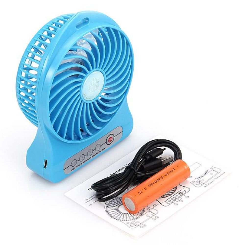 Portable Lithium Battery Fan Price In Pakistan At Symbios Pk