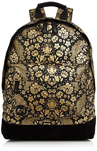 Mi-Pac, Zaino, collezione Eloise Roberts, Multicolore (Russion Doll N/R Black Gold)