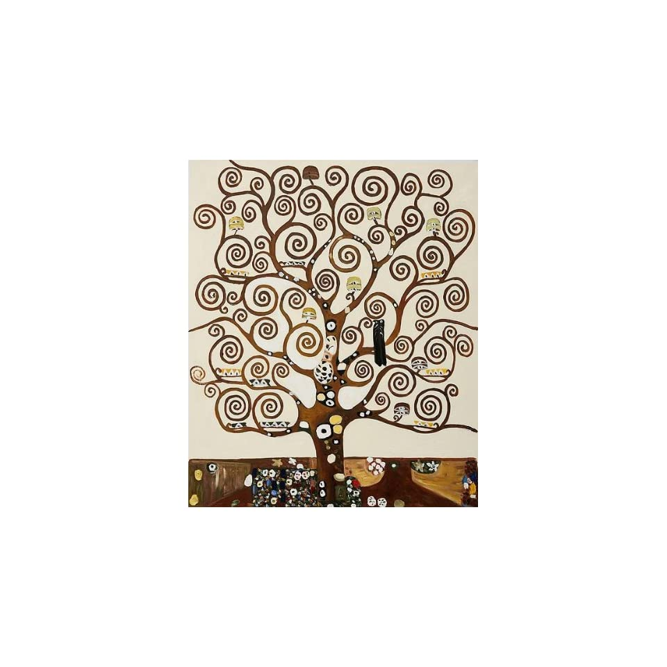 Klimt Art Reproductions and Oil Paintings Tree of Life Oil Painting Canvas Art