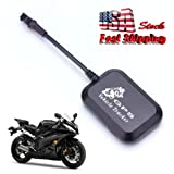 Clearance ! ? Ninasill ? Exclusive Mini Vehicle Motorcycle Bike GPS/GSM/GPRS Real Time Tracker Monitor Tracking (Black) (Color: Black, Tamaño: As Show)