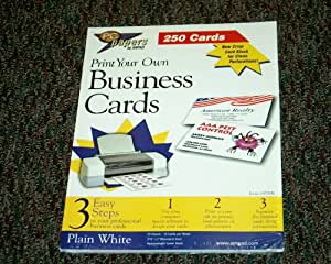 Amazon Business Cards Business Card Stock fice