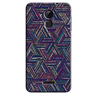 TRAINGLE COLORED LINES BACK COVER FOR COOLPAD NOTE 3