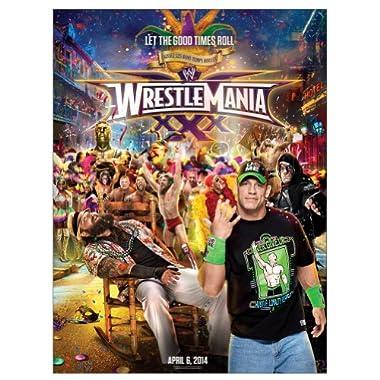 WrestleMania 30 18 quot  x 24 quot  PosterWrestlemania 24 Poster