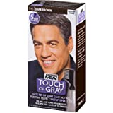 JUST FOR MEN Touch of Gray Hair Treatment T-45 Dark Brown, 1 Each (Pack of 3) (Color: Brown)
