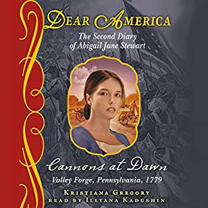 Dear America: Cannons at Dawn Audiobook