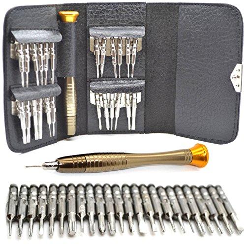 SOLMORE 25 in 1 Repair Opening Tool Kit Pentalobe Torx Screwdriver for...