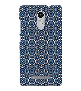 Animated Pattern With Circles 3D Hard Polycarbonate Designer Back Case Cover for Xiaomi Redmi Note 3 :: Xiaomi Redmi Note 3 (3rd Gen)