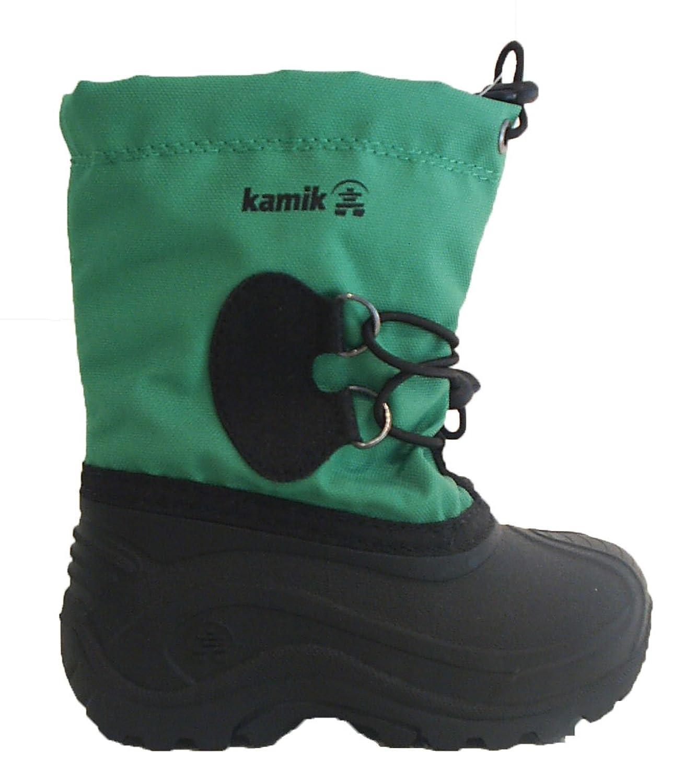 Kamik Stiefel Boots Jungen Mädchen schwarz grün bis -40 °C